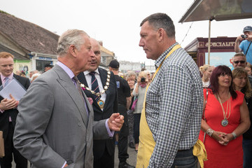Prince Charles The Prince of Wales and Duchess of Cornwall Visit Devon and Cornwall - Day 1