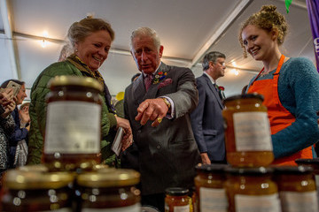 Prince Charles The Prince of Wales Attends the Westmorland County Show