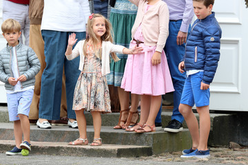 Prince Christian Annual Summer Photocall for the Danish Royal Family at Grasten Castle