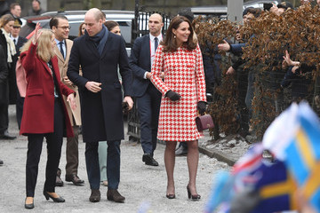 Prince Daniel Crown The Duke and Duchess of Cambridge Visit Sweden and Norway - Day 2