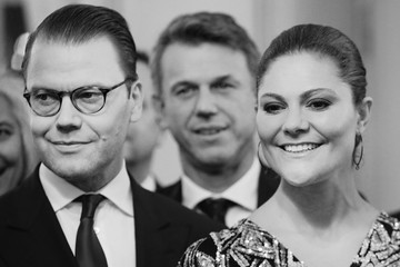 Prince Daniel Party Honouring the Swedish Crown Couple and Minister Ekstrom in Milan