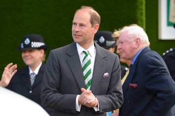 Prince Edward The Chelsea Flower Show