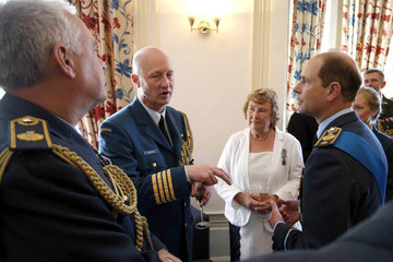 Prince Edward 75th Anniversary of the Battle of Britain