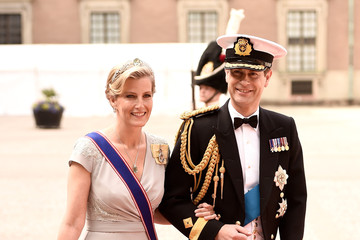 Prince Edward Ceremony And Arrivals: Wedding of Prince Carl Philip of Sweden and Sofia Hellqvist