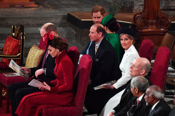 Prince Edward Countess of Wessex Commonwealth Day Service 2020