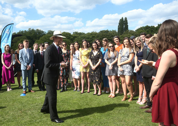 Duke Of Edinburgh Gold Award Presentations At Buckingham Palace