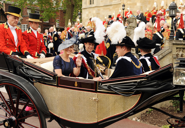 The Order of the Garter Service in Windsor