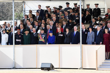Prince Edward Prince Charles Dedication and Unveiling of the Iraq and Afghanistan Memorial