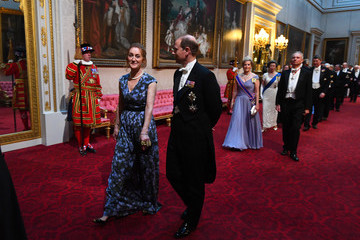 Prince Edward US President Trump's State Visit To UK - Day One