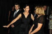 Prince Frederik of Denmark (L) and Princess Mary of Denmark (C) attend the Danish Ambassadors dinner at Doltone House, Pyrmont on November 21, 2011 in Sydney, Australia. Princess Mary and Prince Frederik are on their first official visit to Australia since 2008. The Royal visit begins in Sydney, before heading to Melbourne, Canberra and Broken Hill.