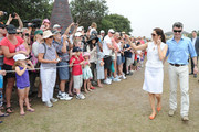 Princess Mary of Denmark and Prince Frederik of Denmark are welcomed by a large crowd as they visit Sculpture by the Sea on November 20, 2011 in Sydney, Australia. Princess Mary and Prince Frederik are on their first official visit to Australia since 2008. The Royal visit begins in Sydney, before heading to Melbourne, Canberra and Broken Hill.