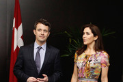Princess Mary of Denmark and Prince Frederik of Denmark are seen at the Hotel Sofitel Wentworth during their visit to Australia on November 21, 2011 in Sydney, Australia. Princess Mary and Prince Frederik are on their first official visit to Australia since 2008. The Royal visit begins in Sydney, before heading to Melbourne, Canberra and Broken Hill.