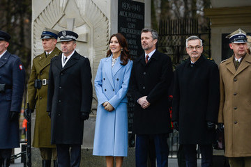 Prince Frederik Danish Crown Prince Couple Visit Poland