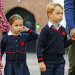 Prince George Princess Charlotte's First Day Of School