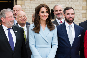 Prince Guillaume of Luxembourg The Duchess of Cambridge Visits Luxembourg