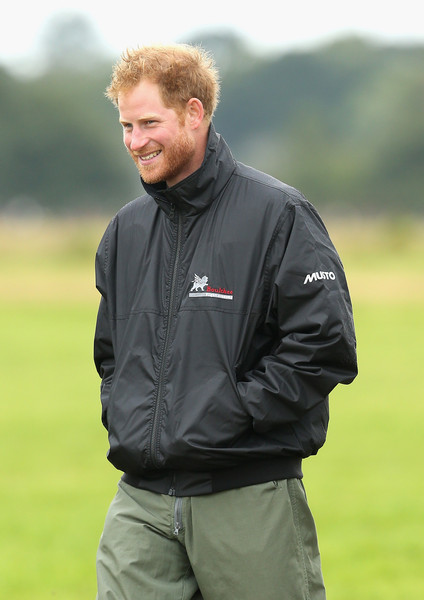 Prince Harry Attends The Battle of Britain Flypast