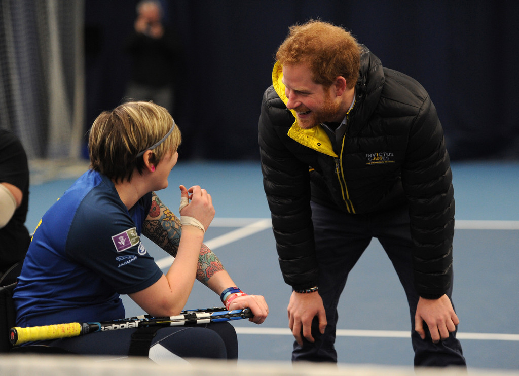 Prince harry photos photos prince harry attends uk team for Pool show in orlando 2016
