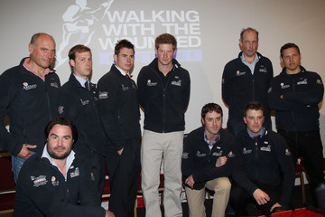 Edward Parker Prince Harry Attends A Welcome Home Reception For Walking With The Wounded
