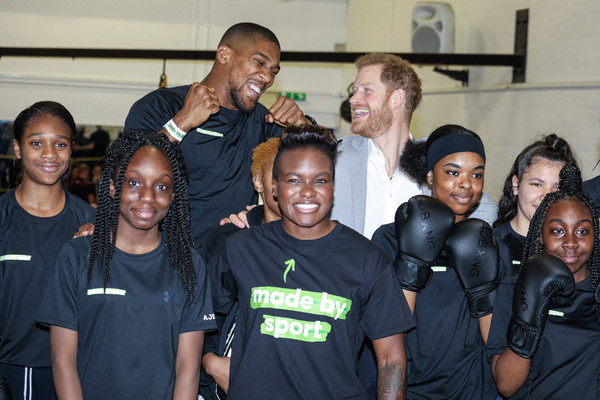 The Duke Of Sussex Attends The Launch Of Made By Sport