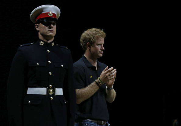 Prince Harry Prince Harry during the rowing at Olympic Park on September 13, 2014 in London, England. Photo: