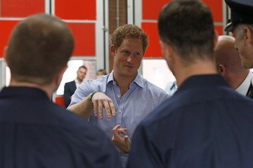 Prince Harry Prince Harry Visits Greater Manchester