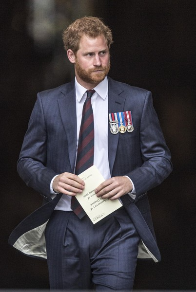 Prince Harry Marks The 75th Anniversary Of Explosive Ordnance Disposal (EOD) Across The British Armed Forces