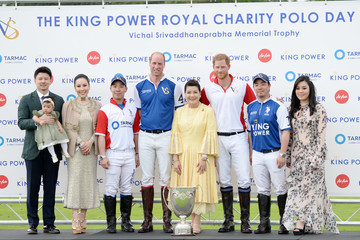 Prince Harry Prince William King Power Royal Charity Polo Day