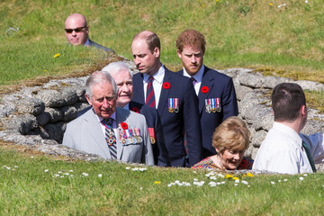 Prince Harry The Centenary Service to Commemorate the Battle of Vimy Ridge
