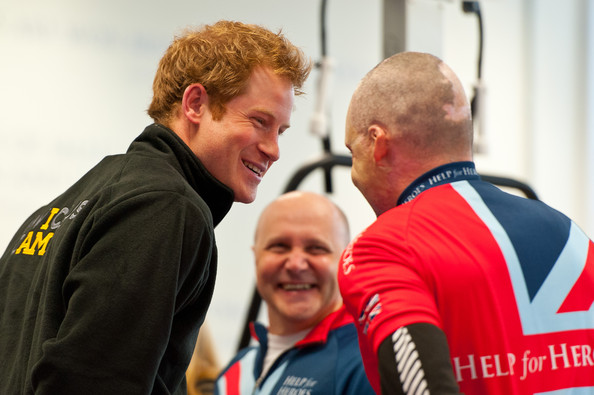 Prince Harry Prince Harry (L) meets veteran Jamie Hull (R) at the launch of the Invictus Games selection process at Tedworth House on April 29, 2014 in Tidworth, Wiltshire, England.