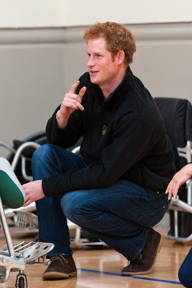 Prince Harry Prince Harry attends the launch of the Invictus Games selection process at Tedworth House on April 29, 2014 in Tidworth, Wiltshire, England.