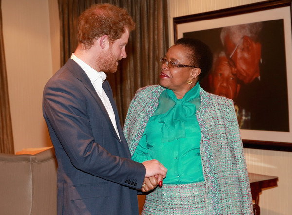 Prince Harry Visits Africa - Day 6