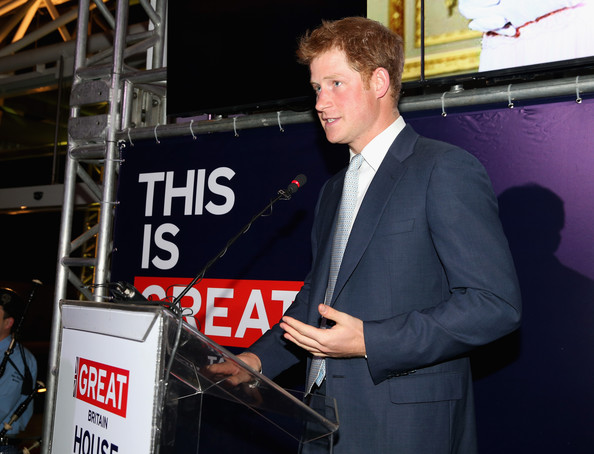 Prince Harry attends a GREAT Britain reception on June 25, 2014 in Sao Paulo Brazil.  Prince Harry is on a four day tour of Brazil that will be followed by Two days in Chile.