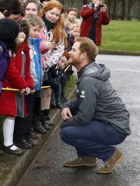 Prince Harry Visits Flood Hit Lancashire