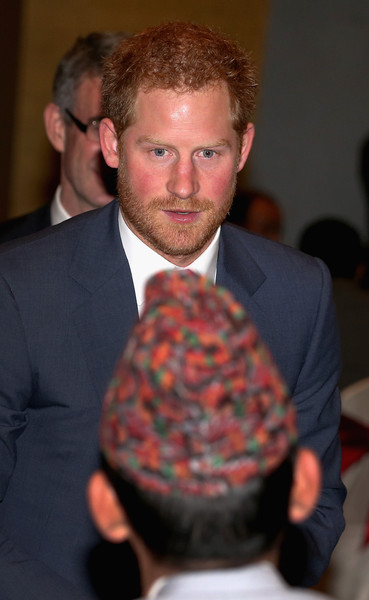 Prince Harry Visits Nepal - Day 1