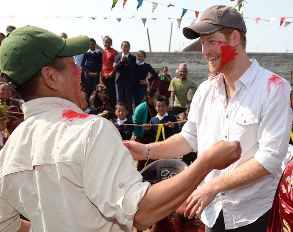 Prince Harry Visits Nepal - Day 4
