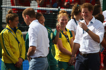 Prince Harry 20th Commonwealth Games: Hockey