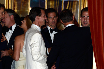 Prince Joachim Of Denmark King Carl Gustav Hosts a Private Dinner in Stocklholm