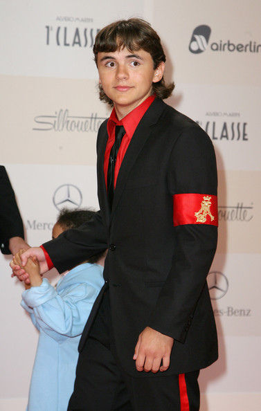 Prince Michael Jackson Prince Michael Jackson attends Tribute to Bambi 2011 at the Station on September 23, 2011 in Berlin, Germany.