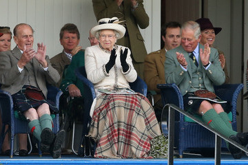 Prince Philip Braemar Highland Games