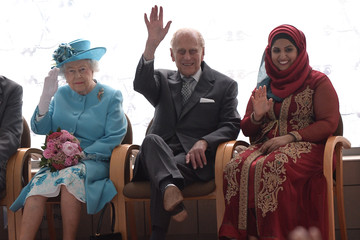 Prince Philip The Queen and Duke of Edinburgh Visit Barking & Dagenham