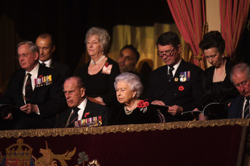 Prince Philip Prince Charles Festival of Remembrance