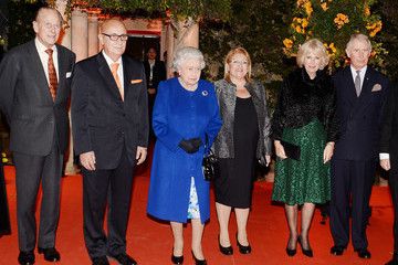Prince Philip Prince Charles The Queen and Senior Royals Attend the Commonwealth Heads of Government Meeting - Day One