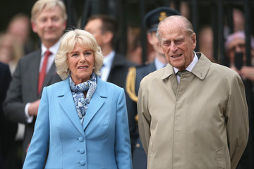 Prince Philip The Queen & Duke of Edinburgh Carry Out Engagements in Windsor on Her Majesty's 90th Birthday