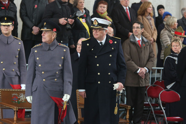 Prince Philip at the Ypres Menin Gate Ceremony []