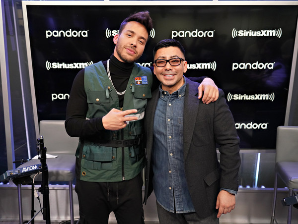 Prince Royce Performs On SiriusXM's Caliente Channel At The SiriusXM Studios