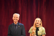 Phillip Schofield (L) and Fearne Cotton at the annual Prince's Trust Awards at the London Palladium on March 13, 2019 in London, England.
