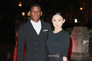 Labrinth and Muz attend a reception and dinner for supporters of The British Asian Trust at the Natural History Museum on February 2, 2016 in London, England.