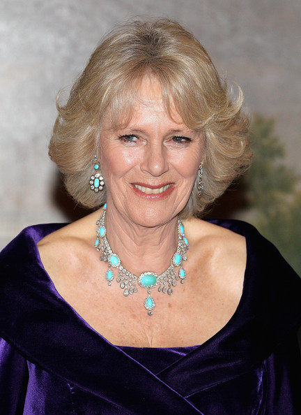 Camilla, Duchess of Cornwall attends an official dinner at the Norwegian Royal Palace on March 20, 2012 in Oslo, Norway.  Prince Charles, Prince of Wales and Camilla, Duchess of Cornwall are on a Diamond Jubilee tour of Scandinavia that takes in Norway, Sweden and Denmark.