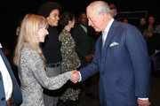 Prince Charles, Prince of Wales meets alumni from the BFI Film Academy during an official visit to BFI Southbank on December 06, 2018 in London, England.  The Prince of Wales has been Patron of the British Film Institute for 40 years.