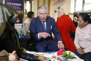 The Prince of Wales Visits St John's Church in Southall